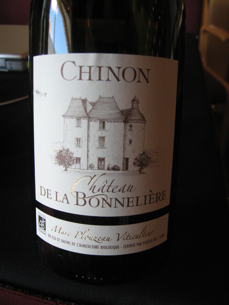Chinon from blind tasting